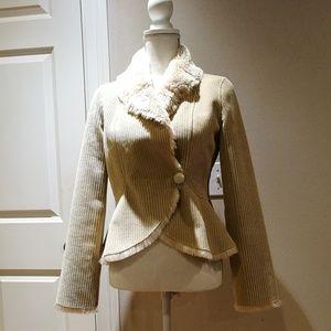 Arden B. Faux Fleece Lining Jacket